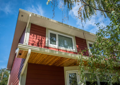 James Hardie Siding - Brushwork Red (previously called Traditional Red) - Kelvin Grove