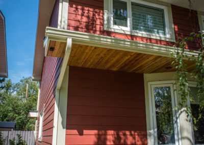 James Hardie Siding - Brushwork Red (previously called Traditional Red)- Kelvin Grove