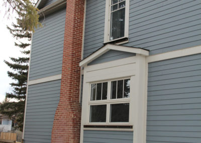 James Hardie Siding - Boothbay Blue - West Hillhurst