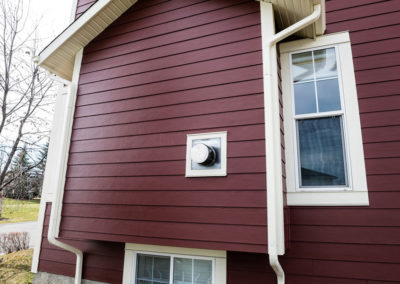 James Hardie Siding - Elegant Red Hardie (previously called Countrylane Red) - Tuscany